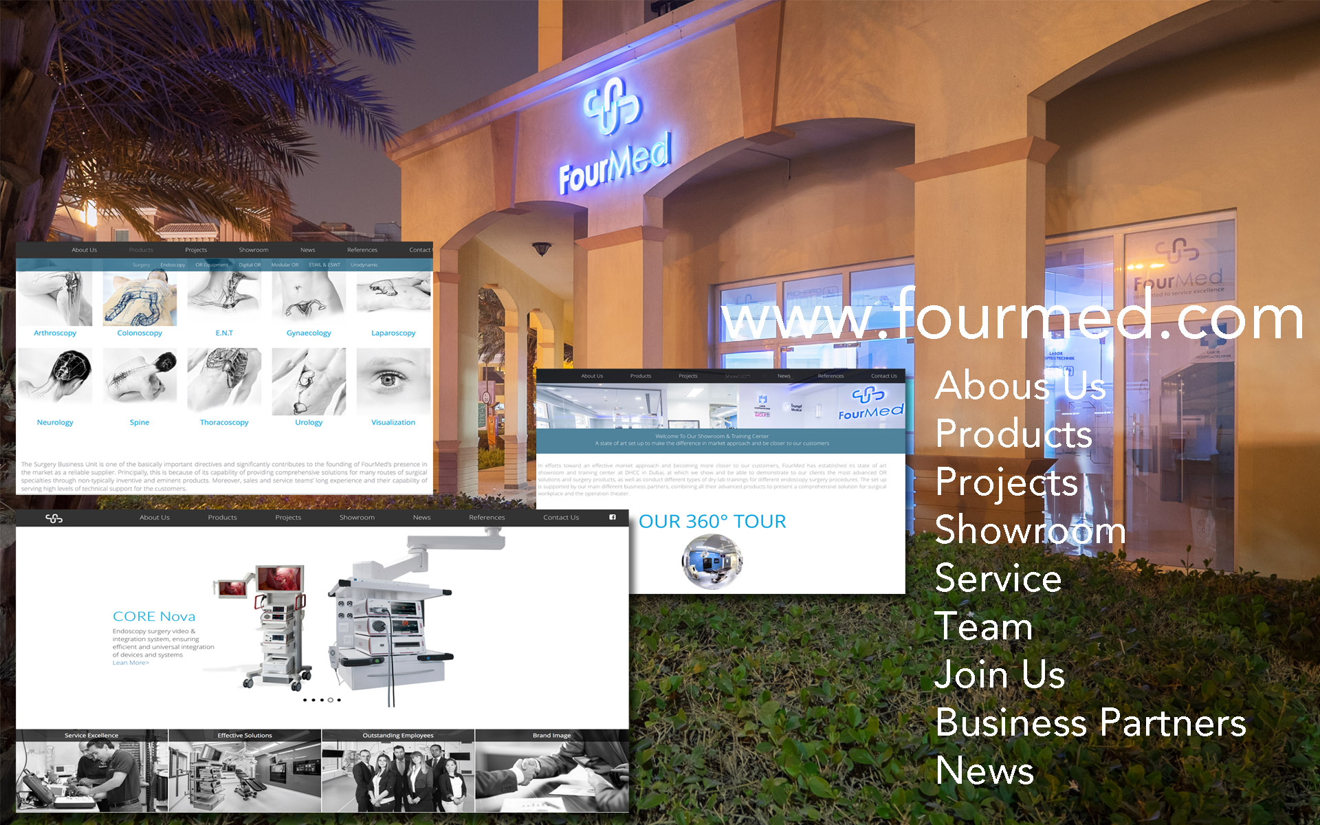 FourMed Launching its new website